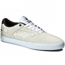 Emerica The Reynolds Low Vulc Skate Shoes in White/ Black LR