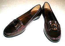 Hush Puppies Leather Loafers Mocassin Shoes Women's Size 6.5 M