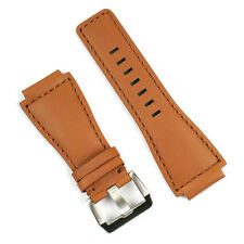 Watch Strap for Bell & Ross BR01 BR03 Golden Heritage Leather