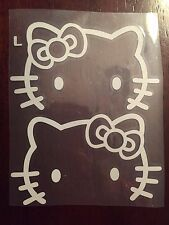 Hello Kitty Car Rear View Mirrors, White - US Seller