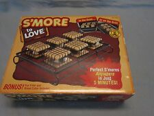 S'MORE TO LOVE SMORE MAKER FOR OVEN OR GRILL NEW IN BOX NO CAMPFIRE NEEDED