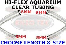 Clear Silicone Tubing Hose Pipe Pond Aquarium Fish Tank Air Pump