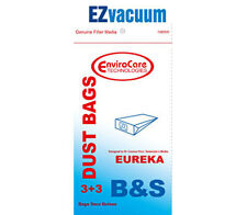 Eureka ward B & S Canister Vacuum Cleaner Bags +Filter  # 52329