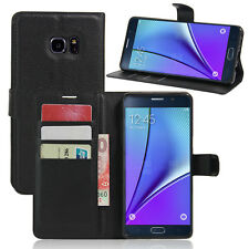Wallet Card Holder Stand PU Leather Case Cover For Samsung Galaxy Note 7 N9300