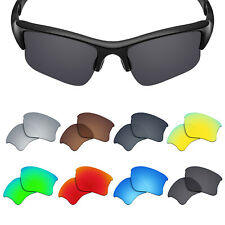 3 Pairs POLARIZED Replacement Lens for-OAKLEY Flak Jacket XLJ Sunglasses UVA&UVB