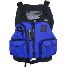 NRS Chinook Fishing Mesh Back Life Jacket PFD Blue