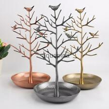 Animal Bird Tree Bracelet Necklace Jewelry Holder Display Show Stand Rack