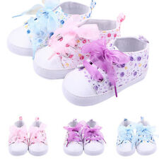Hot Baby Boots Girls Lace Up Soft Sole Crib Sneakers Shoes Toddler Shoes