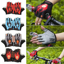New Cycling Gloves Antiskid Mountain Gel Half Finger Gloves For Bike Motorcycle