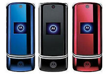 Motorola Krzr K1 Mobile Phone Bluetooth 2MP GSM mobile phone