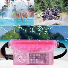 Waterproof Bag,Underwater Pouch Waist Pack Swimming Dry Case For Cell-Phone WL