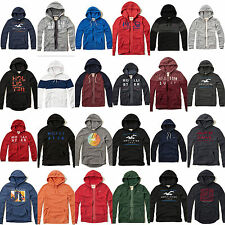 New Hollister By Abercrombie Mens Full Zip and Pullover Hoodie Size S M L XL Nwt