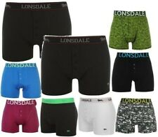 Lonsdale 2 Pack Trunks Mens Boxers Shorts Underwear ~ All sizes S - XXXXL