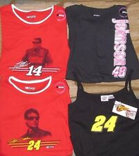 New NASCAR T-Shirts/Tank Top Gordon #24, Stewart #14, Johnson #48 L, M, S