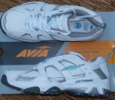 "AVIA ""A1212WWSM"" WOMEN'S LITE COOL MESH & LEATHER CROSSTRAINING SHOES LIST $65"