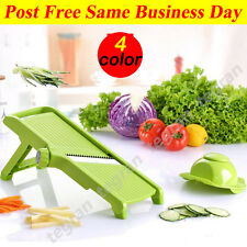 4 Color Pro Peeler Vegetable Mandolin Slicer Cutter Spiral Tools Kitchen New