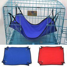 Pet Cat Dog Ferret Hanging Hammock Comforter Sleep Bed Super Soft