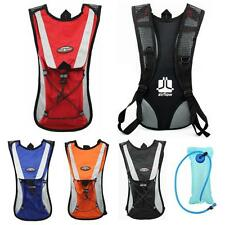 New Cycling Backpack Water Bag Hiking Pouch Climbing Hydration Pack With Bladder