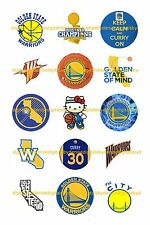"""GOLDEN STATE WARRIORS 1"""" CIRCLES  BOTTLE CAP IMAGES. $2.45-$5.50 FREE SHIPPING"""