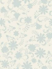 Quilting Treasures  Fabric - Lydia by Nicole Tamarin Ivory Dusty Blue Floral
