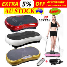 3500W Slim Vibration Machine Trainer Plate Platform Body Shaper Exercise Fitness
