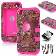 iPod Touch 4 4G 4th Gen Rubber Silicone Gel Hard Soft Skin Case Protector Cover