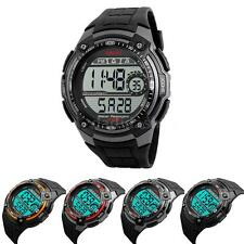 SKMEI Digital Mens Sports Watch Waterproof Alarm Chronograph Wristwatches J8R3