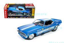 AUTO WORLD 1:18 LEGENDS OF THE QUARTER MILE 1970 PLYMOUTH CUDA FUNNY CAR