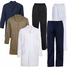 Doctors Coat Medical Surgeon Doctor Trousers Lab Coat Pants Laboratory Hygiene