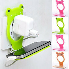 Animal Mobile Cell Phone Holders Folding Wall Charging Station Stand Optimal