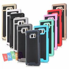 For Samsung Galaxy S7 Hybrid Shockproof Hard Bumper Soft Rubber Skin Case Cover