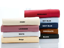 Make Your Choice! 4 pc Bed Sheet Set 1000 TC 100%Egyptian Cotton King Size