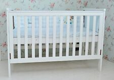 4 in 1 White Wooden Baby Cot crib Toddler Bed Sofa Bed