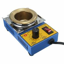 Solder Pot Soldering Desoldering Bath Stainless Steel Plate 150W-300W Uk Seller