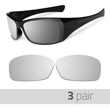 3 Pair Optico Replacement Polarized Lenses for Oakley Hijinx Sunglasses Mirror