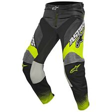 2017 Alpinestars Racer Supermatic YOUTH MX Motocross Pants - Anthracite Flo