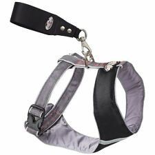 Padded Dog Harness by Mutt Gear Adjustable Reflective Trim