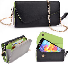 Womens Synthetic Leather Wrislet Wallet for Smartphones and Cards ESMLUB1|ECE