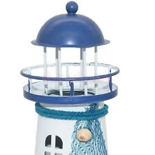 """6"""" Lighthouse Iron Candle Light Mediterranean Style Home Decor New 4 Types"""