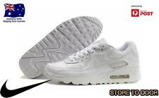 Womens Nike Air Max 90 White Leather Trainers Shoes Sizes US 5 6 7 8 Auspost