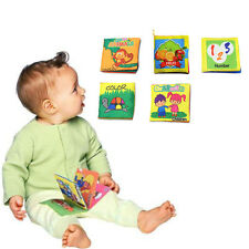 Intelligence Development Toy Baby Cloth Book Educational Toy for Kids Baby New