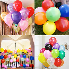 "12"" 100pcs Colorful Latex Helium Ballons Wedding Birthday Party Decoration"