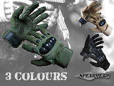 Paintball Airsoft Gloves Armoured Carbon Knuckle Protection Military Cycling