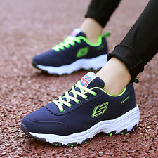 Fashion Korean Mens Women Flats Sneakers Running Leisure sport Casual Shoes hss