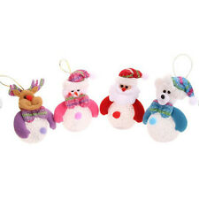 Electric Christmas Snowman Ornaments Festival Party Xmas Tree Hanging Decoration
