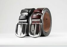 Genuine Leather Belt Men Ladies Causal Formal Pin Buckle Waist Belt Fashion New