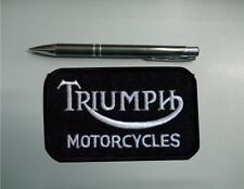 PATCH PATCH TRIUMPH MOTORCYCLES EMBROIDERY EMBROIDERED THERMOADHESIVE cm 9 x 5