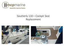 Southerly 110 - Cockpit Seat Synthetic Teak Decking Replacement