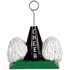 CHEERLEADING PHOTO BALLOON WEIGHT HOLDER PARTY TABLE DECORATION