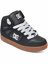 DC Black-Gum Rebound Boys Hi Top Shoe